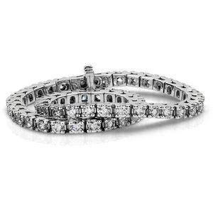 6.25 Carats sparkling small diamonds Tennis bracel